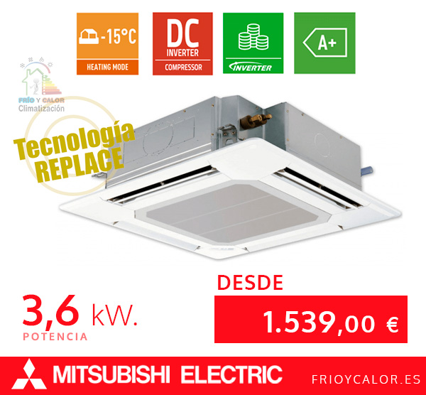 Mitsubishi Electric Cassette FrioyCalor